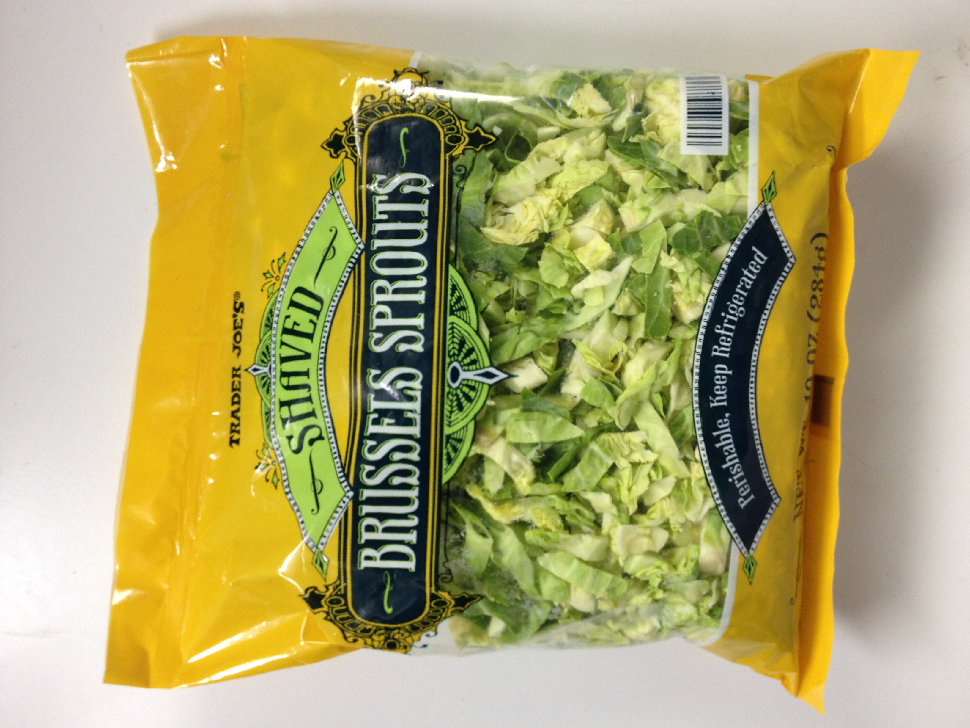Shredded Brussels sprouts | Things I love at Trader Joe's