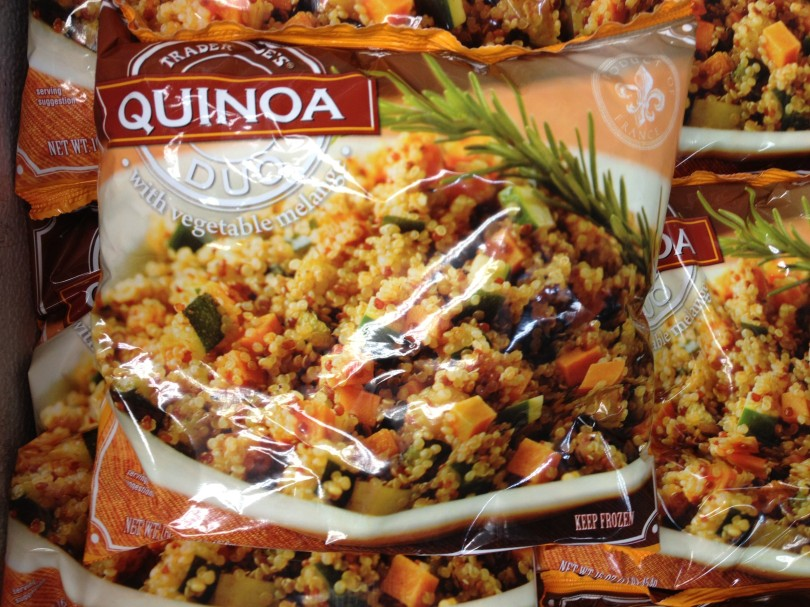 Quinoa Duo with vegetable melange