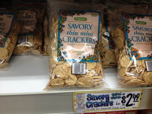Savory Thin Mini Crackers