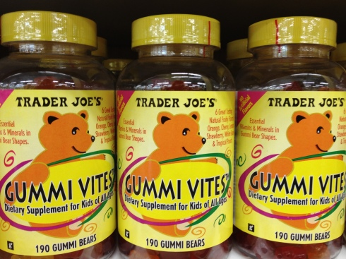 Trader Joe's Gummi Vites