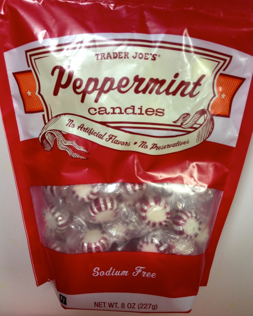Peppermint hard candy
