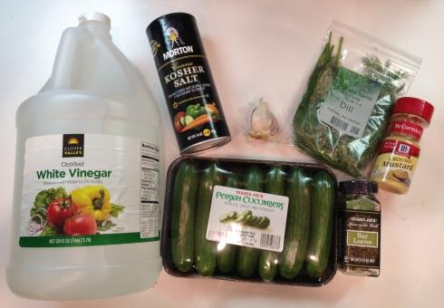 Pickling ingredients