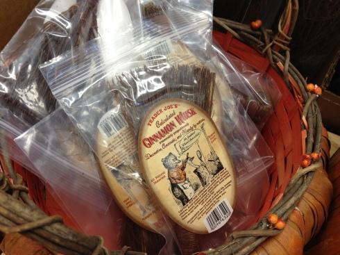 Cinnamon whisks from Trader Joe's