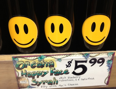 Happy WIne from Trader Joe's