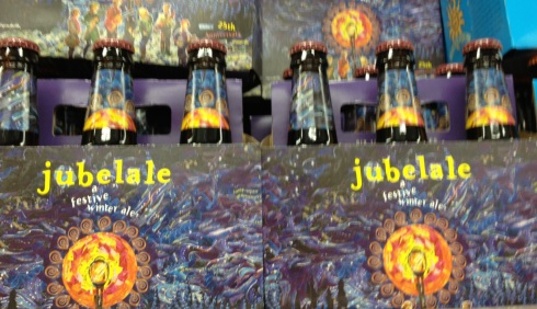 Jubelale beer for celebration