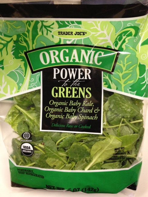 The Power of Greens at Trader Joe'