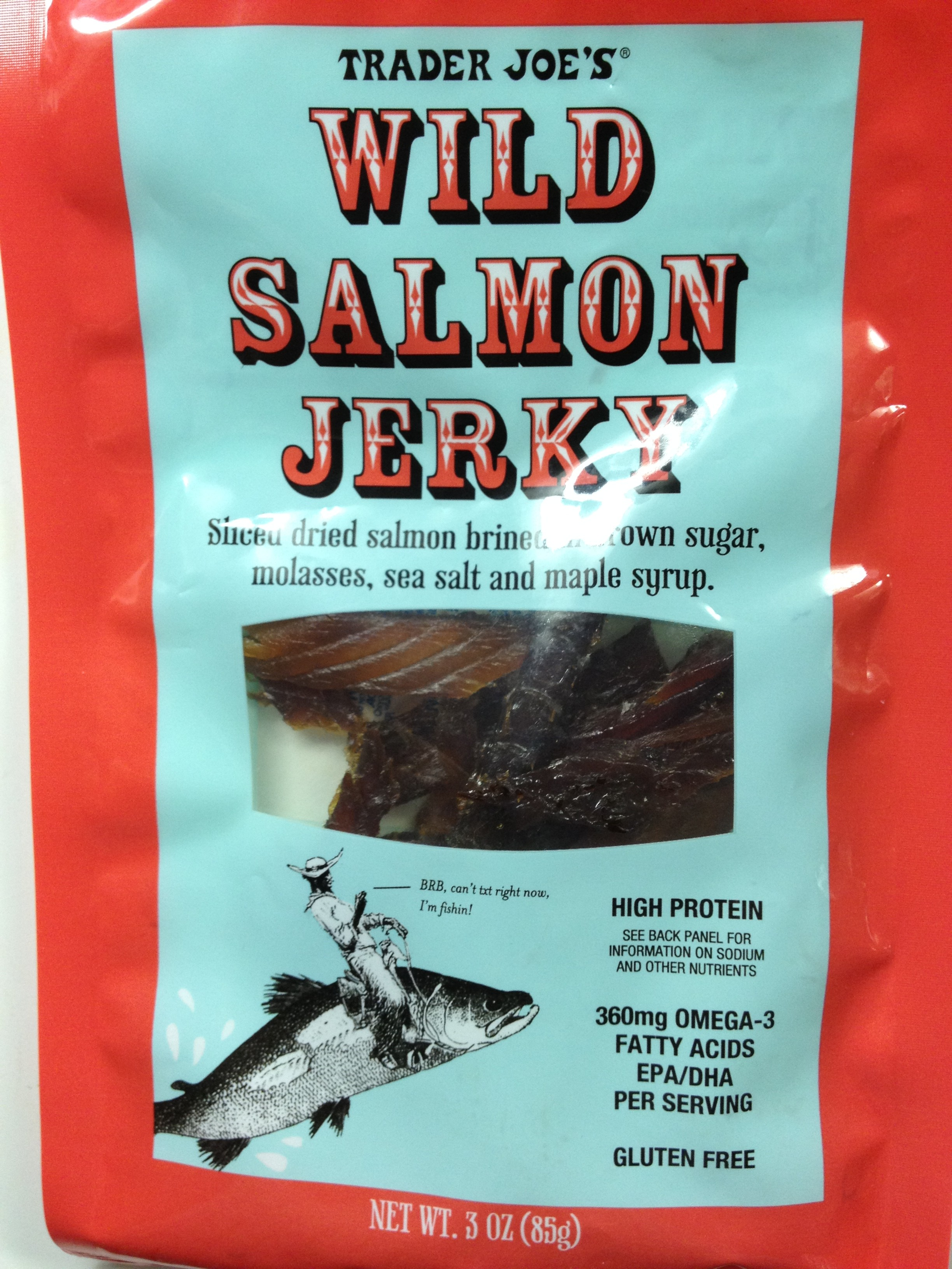 Fish friday trader joe s salmon jerky things i love at for Trader joes fish