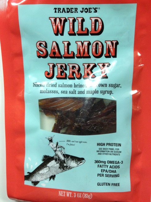 Wild Salmon Jerky from Trader Joe's