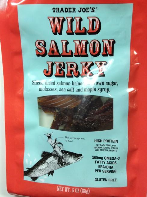 Wild Salmon Jerky from Trader Joe's