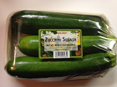 Zucchini from Trader Joe's