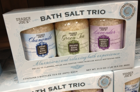 Trader Joe's Bath Salt Trio