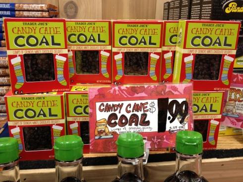 Trader Joe's makes coal delicious