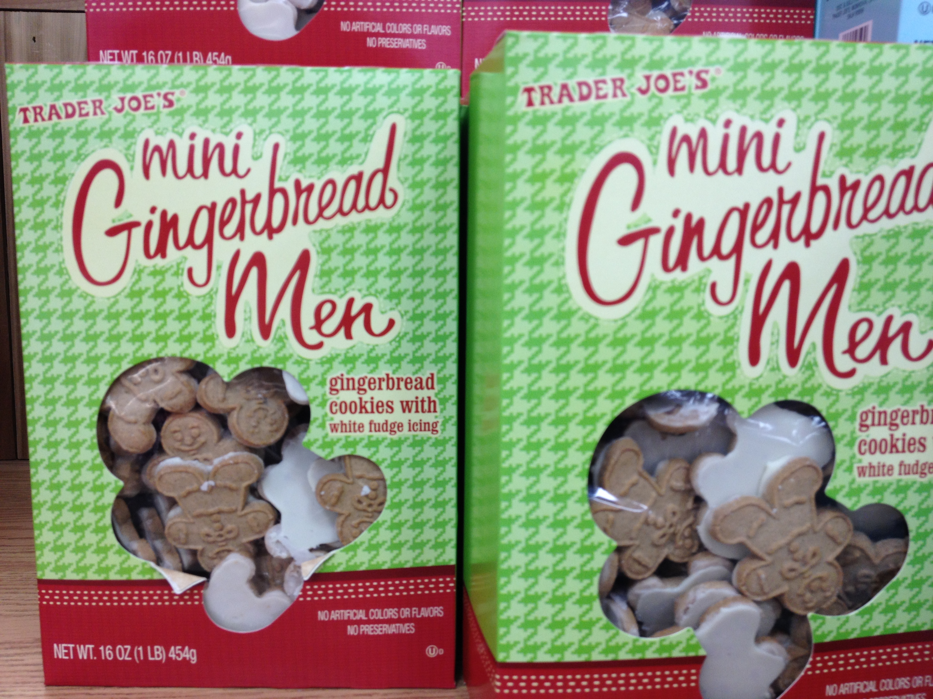 Image result for trader joe's gingerbread frosted