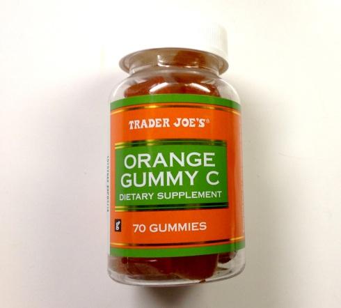 Gummy C vitamins