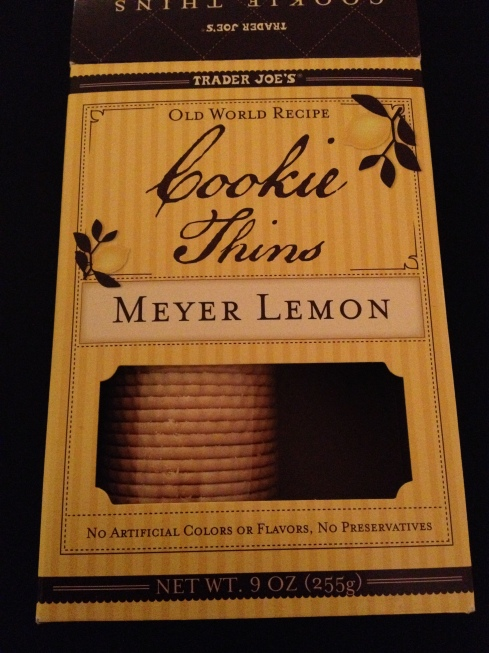 Meyer Lemon Cookie Thins from Trader Joe's