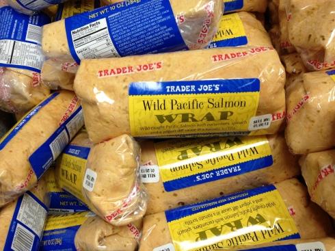 Salmon roll at Trader Joe's