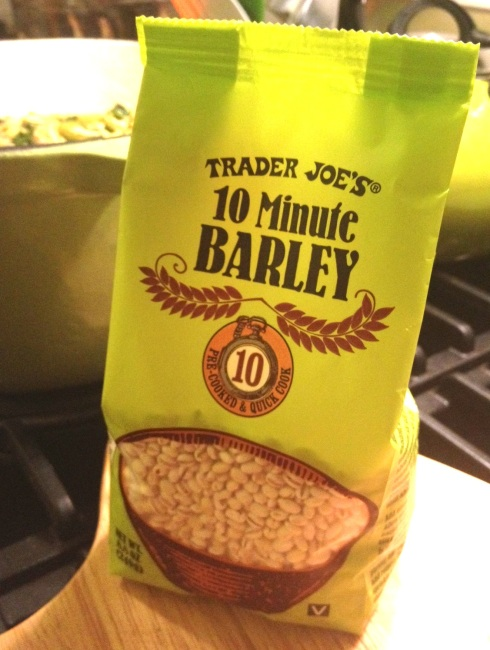 Trader Joe's grain goodness