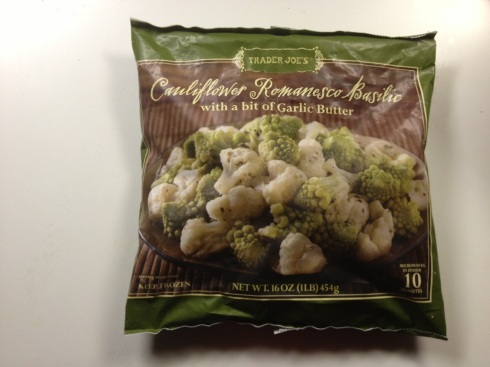 bag of delicious vegetables from Trader Joe's