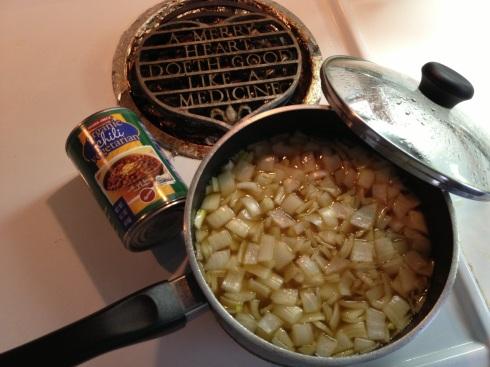 onion soup plus chili