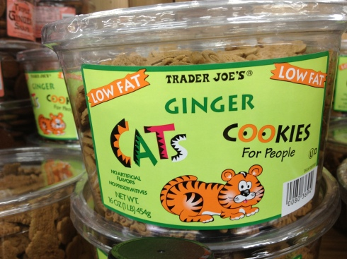 No kitties were harmed in the making of these cookies