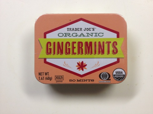 Curiously strong gingery mints