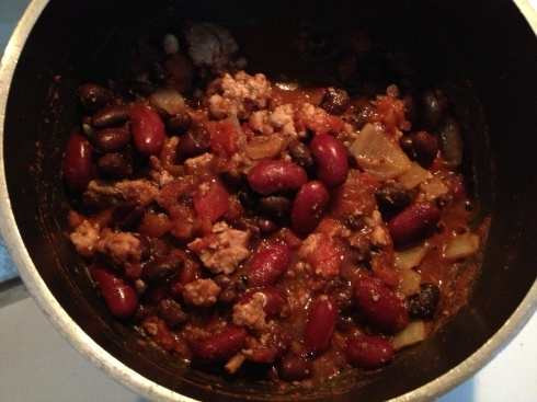 DIY chili: Ingredients from Trader Joe's