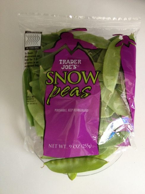 Snow peas, please