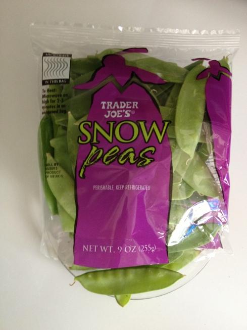 Snow peas, please