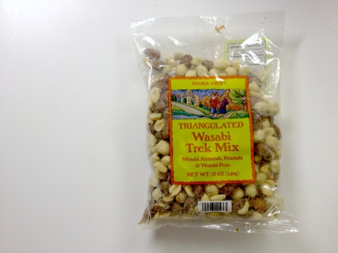 Trader Joe's Wasabi Trek Mix: A satisfying spice bomb of nuts and peas
