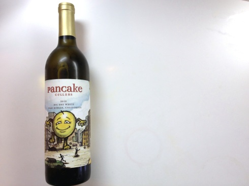 Pancake white wine from Trader Joe's