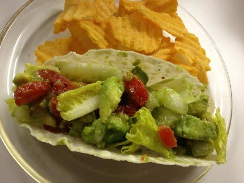 guacamole taco