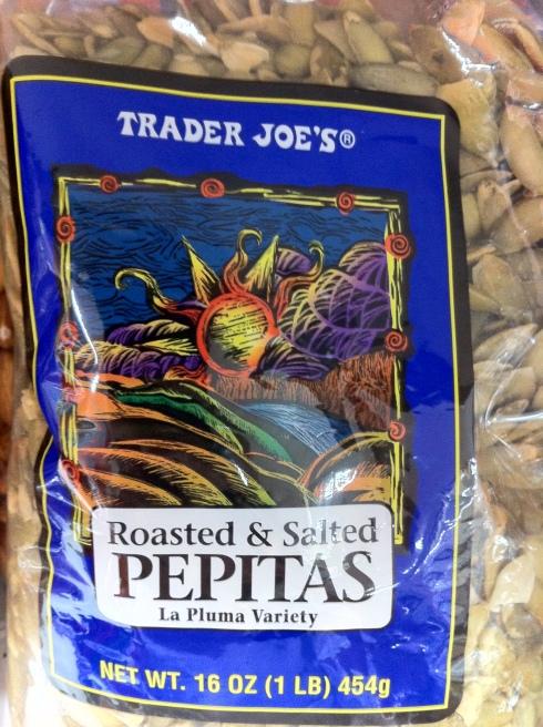 Delicious pumpkin seeds