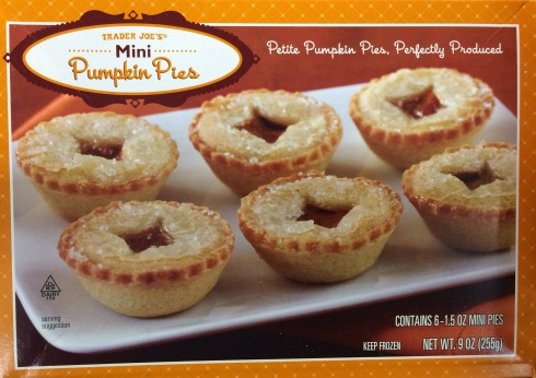 Mini pumpkin pies look good enough to eat