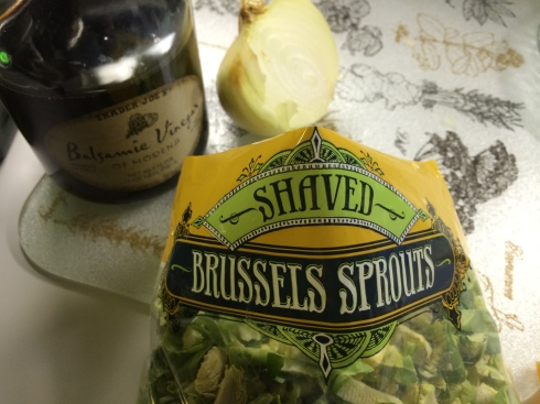Shredded Brussels Sprouts from Trader Joe's