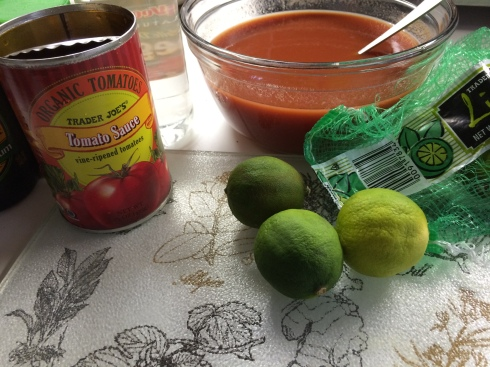 Makeshift Bloody Mary Mix
