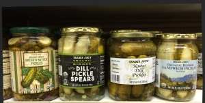 Pickles from Trader Joe's
