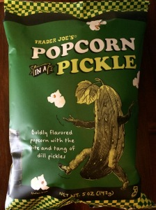popcorn that tastes like a dill pickle